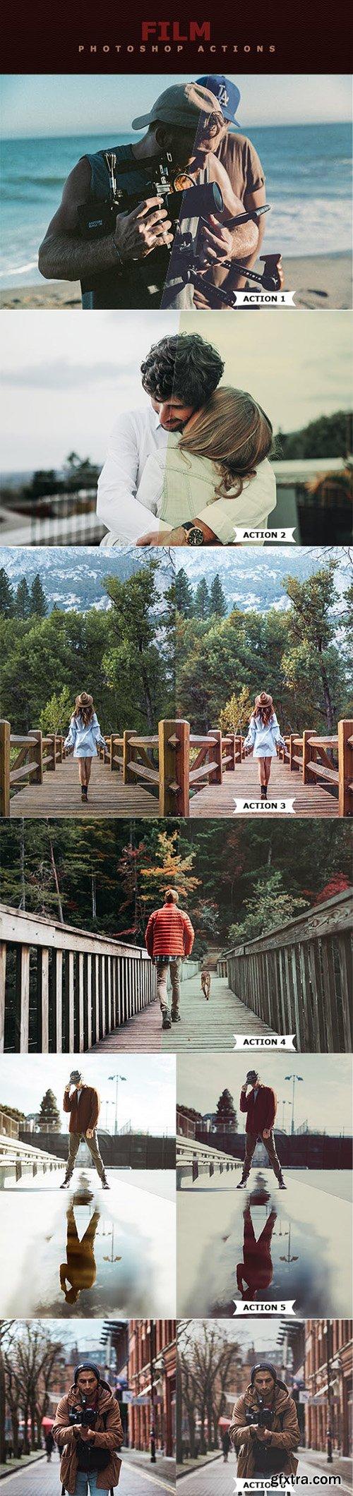 Graphicriver Film Photoshop Actions 22824285