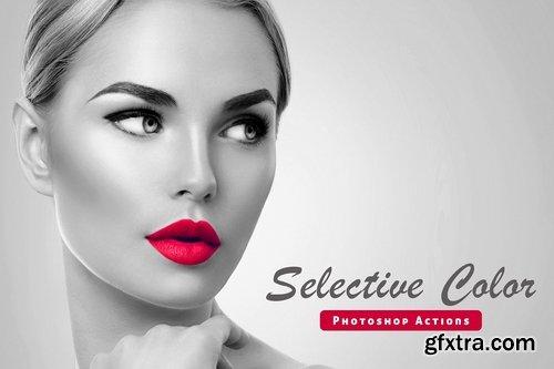 CM - Selective Color Photoshop Action 1035839