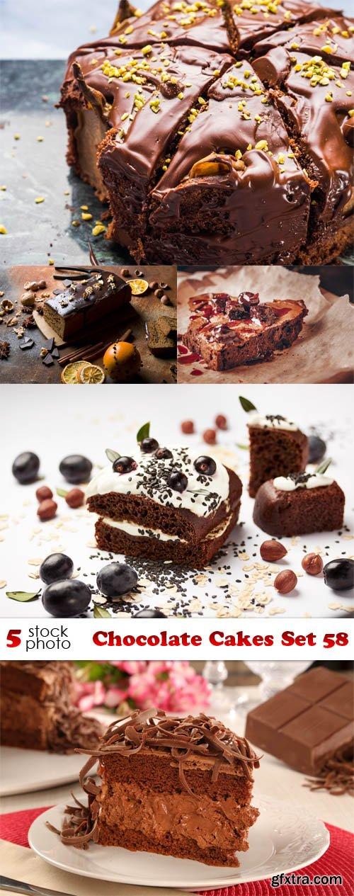 Photos - Chocolate Cakes Set 58
