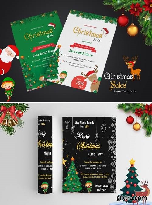 Christmas Night Party and Sales Promotion