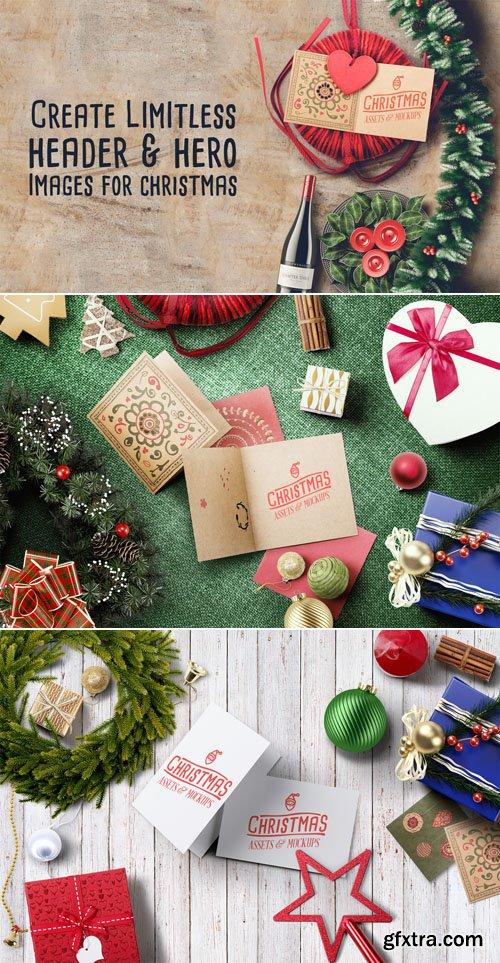 Christmas Hero Image - Assets & Mockups PSD