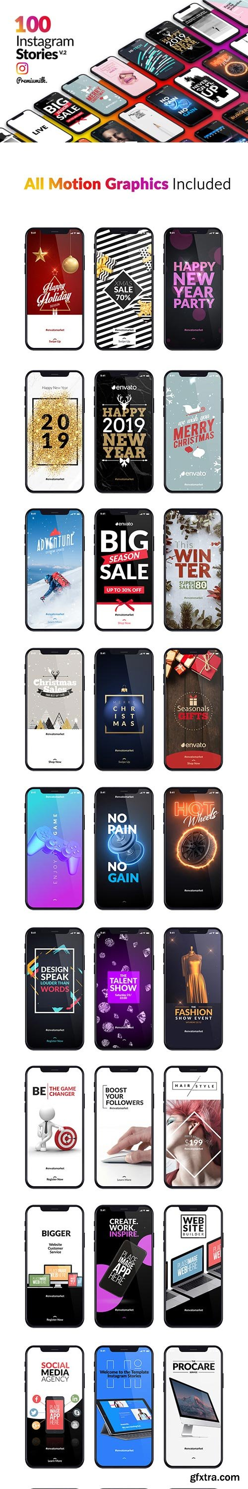 Videohive - Instagram Stories Package - 22918886