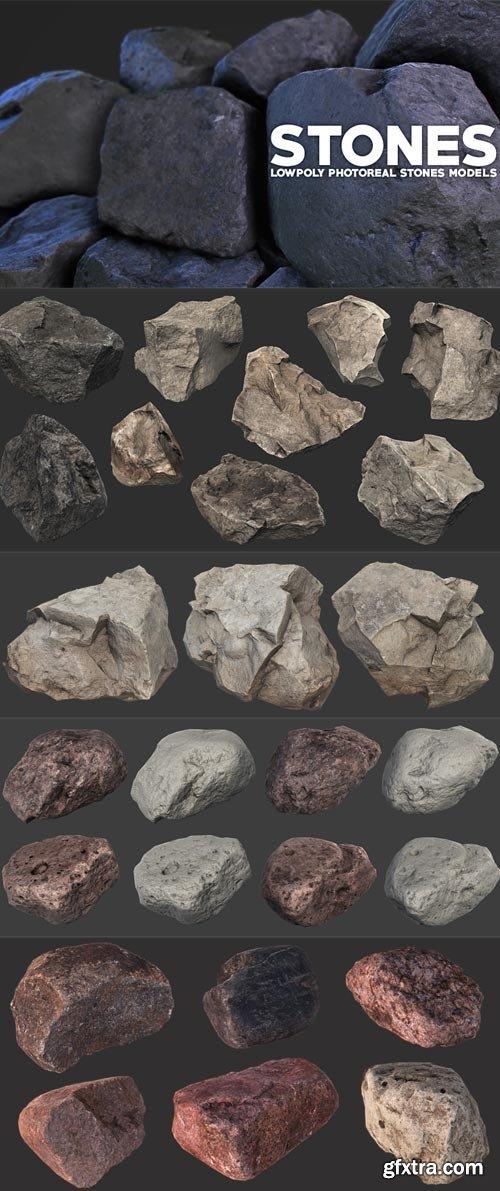CubeBrush - Photoreal Stones