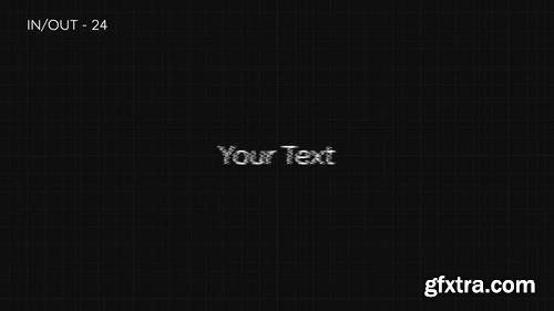 MA - 25 Glitch Text Presets V 2.0 After Effects Presets 58529