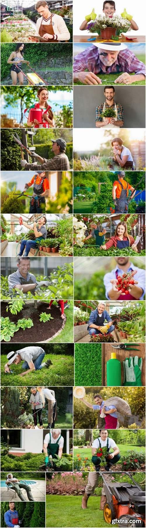Farmer gardener garden landscaping 25 HQ Jpeg