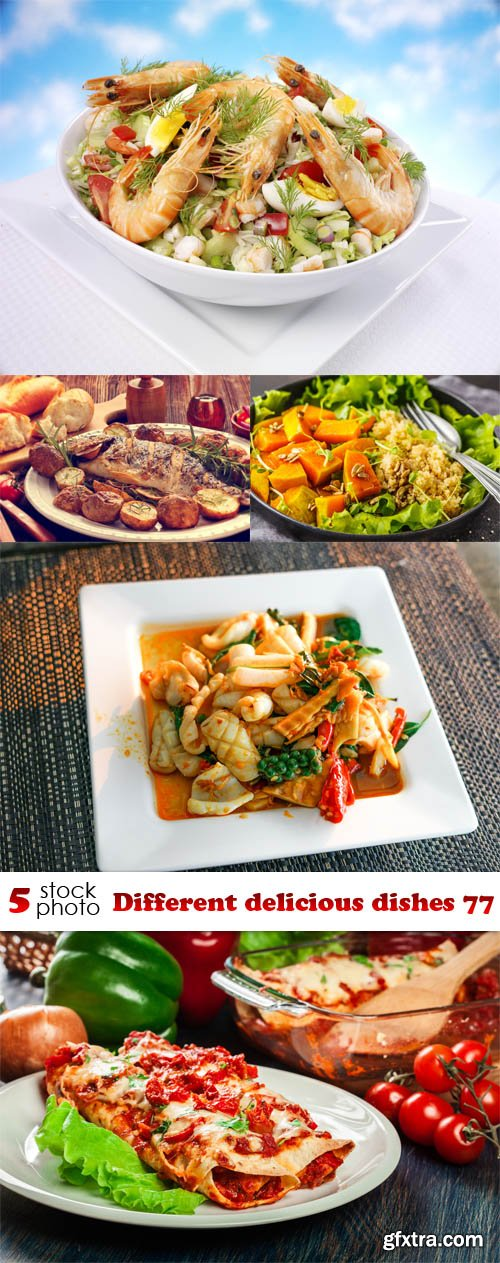 Photos - Different delicious dishes 77