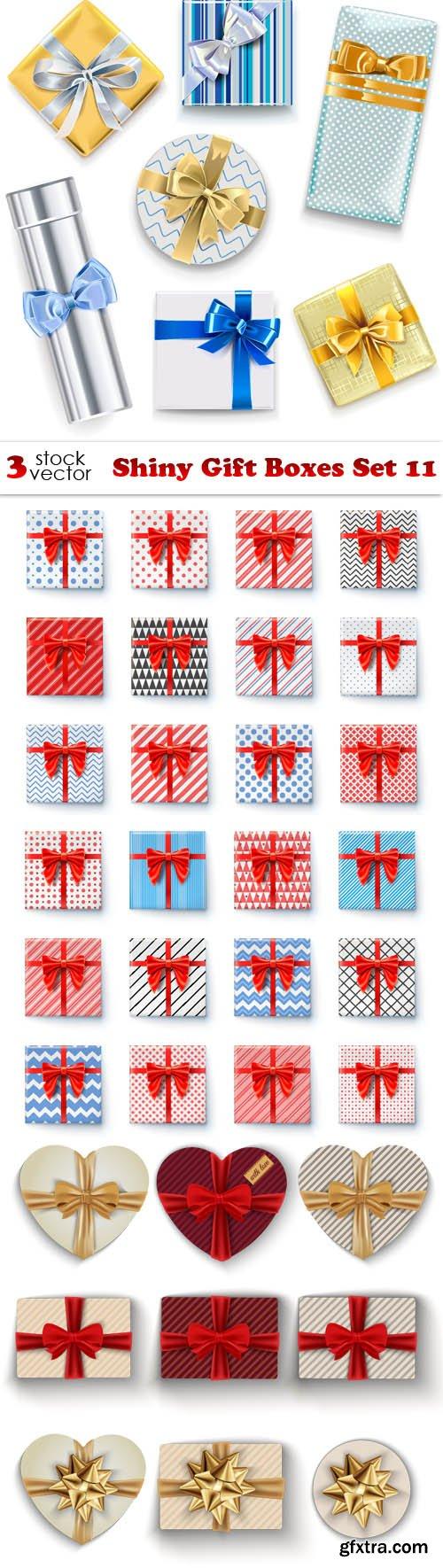 Vectors - Shiny Gift Boxes Set 11