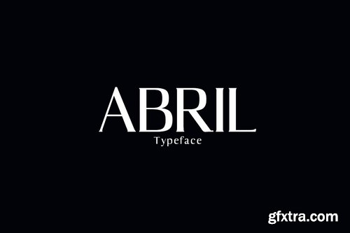 CM - Abril Serif Font Family Pack 1409797