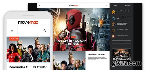 JoomlArt - JA Moviemax v1.1.7 - Movies Multimedia News Joomla Template