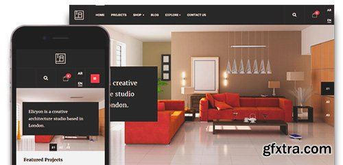 JoomlArt - JA Elicyon v1.0.5 - eCommerce Joomla Template For Interior Design Decor