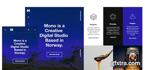 JoomlArt - JA Mono v1.0.8 - Responsive Joomla Template For Creative Business
