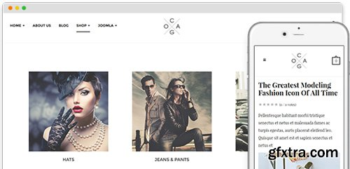 JoomlArt - JA Cagox v1.1.0 - Responsive Joomla Template For Fashion Store