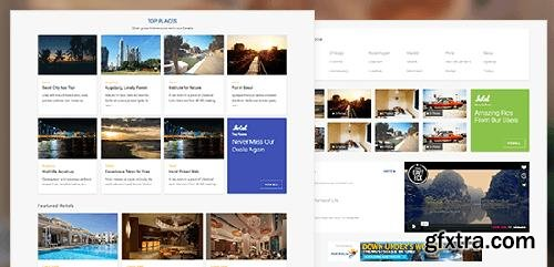 JoomlArt - JA Hotel v1.0.7 - Responsive Joomla Template For Hotel Booking & Travel Websites