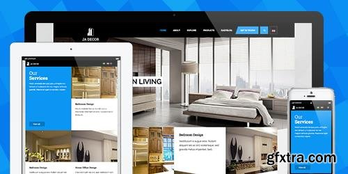 JoomlArt - JA Decor v2.0.0 - eCommerce Joomla Template For Decor and Interior Decor