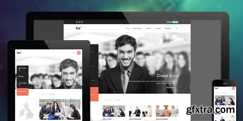 JoomlArt - JA Biz v1.1.9 - Responsive Joomla Template For Business