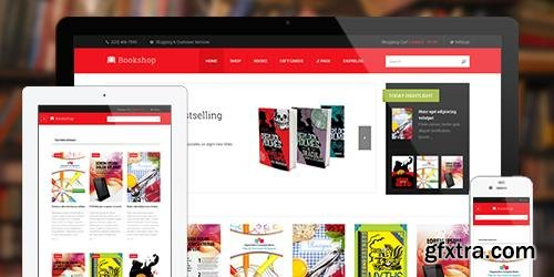 JoomlArt - JA Bookshop v1.1.8 - eCommerce Joomla Template For Book Store