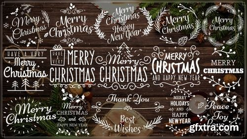 MA - Merry Christmas Titles III After Effects Templates 155267
