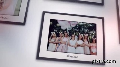 Photos On The Wall - Our Wedding Day - After Effects 135539