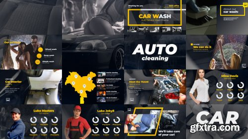 Car Washing Presentation - After Effects 134915