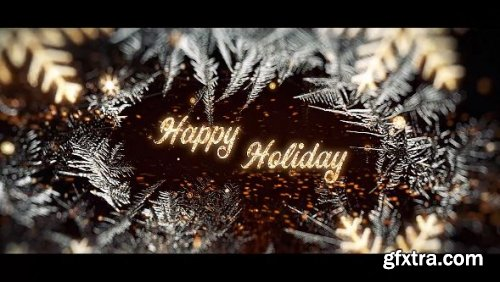 Merry Christmas Greetings - After Effects 148196