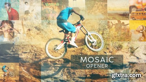 Mosaic Opener - After Effects 135970