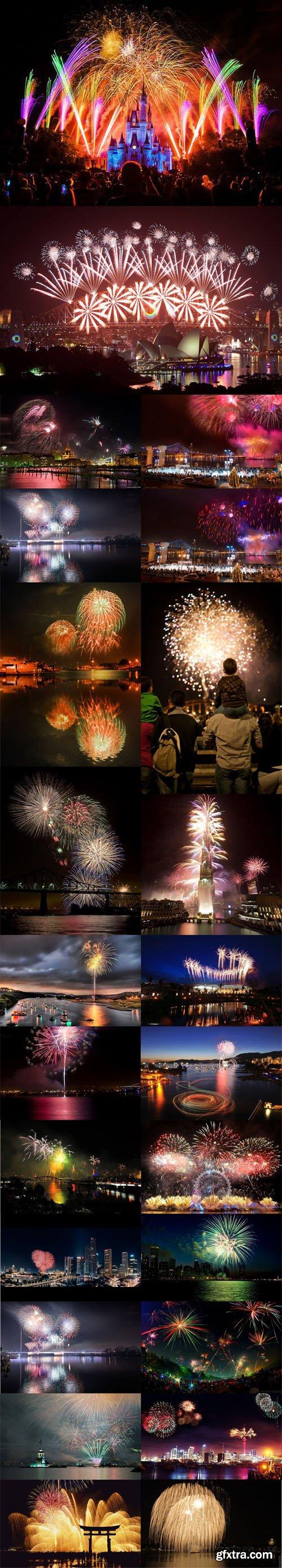 Around the World - New Year Fireworks Photos