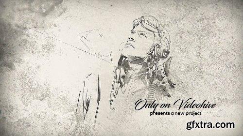 Videohive Historical Memories // Watercolor Ink Slideshow 18404158