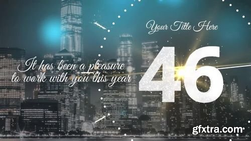 MA - One Minute New Year Countdown After Effects Templates 154824