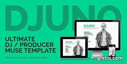 ThemeForest - DJuno v1.1 - Ultimate DJ / Producer Muse Template - 7728291