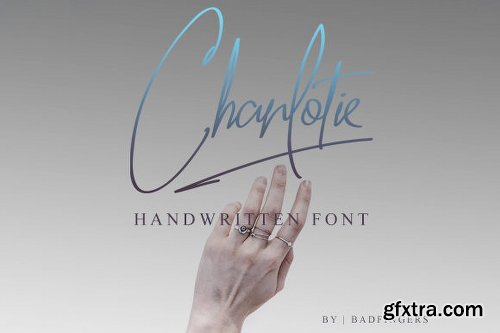 Charlotie Font Family - 2 Fonts