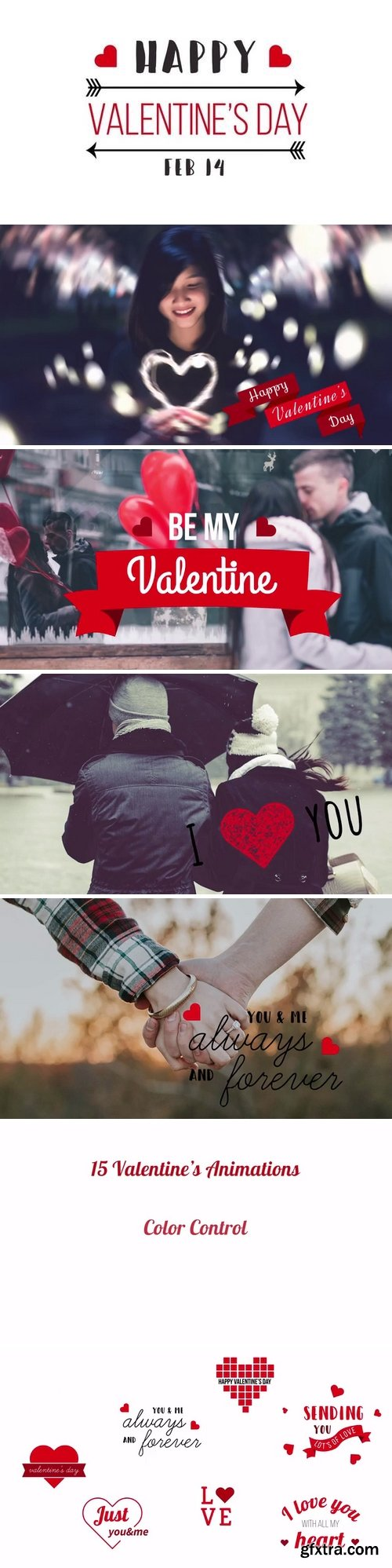MotionArray - Valentine\'s Day Titles After Effects Templates 60444