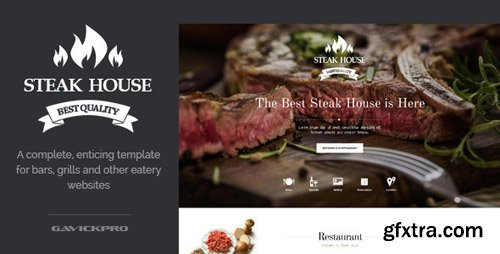 GavickPro - Steak House v3.25 - Restaurant Joomla Template