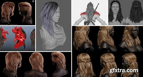 CGMA – Hair Creation for Games with Johan Lithvall