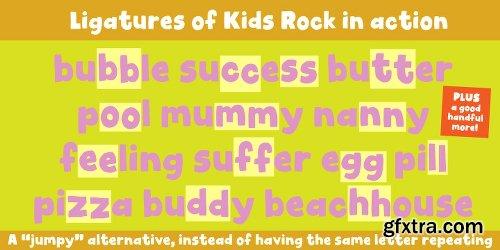 Kids Rock Font Family - 2 Fonts