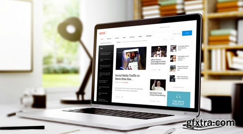 GavickPro - News 2 v3.23 - Editorial Joomla Template