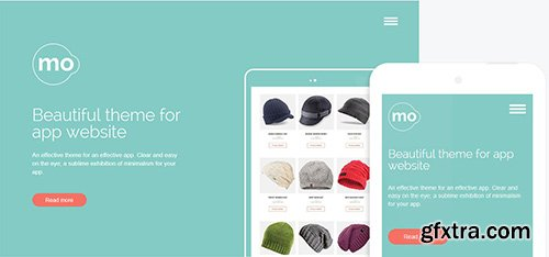 GavickPro - MO v3.24 - App Joomla Template