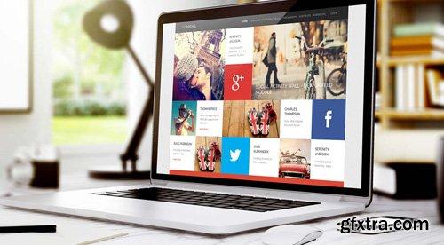 GavickPro - (M) Social v3.25 - Media Joomla Template
