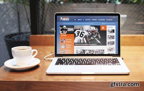 GavickPro - League News v3.11.2 - Sports Joomla Template