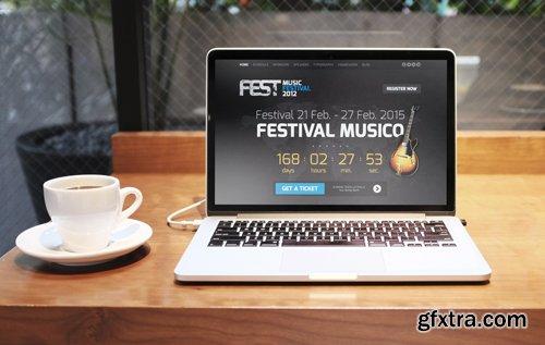 GavickPro - Fest v3.14.2 - Music Festival Joomla Template