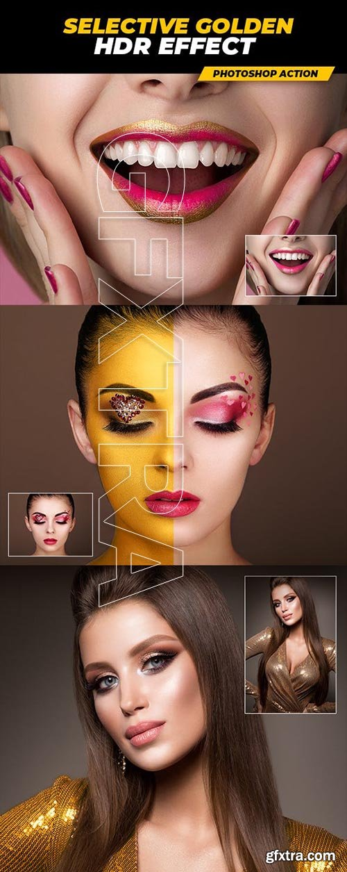 GraphicRiver - Selective Golden HDR Effect 23092957