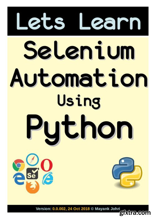 Lets Learn Selenium Using Python