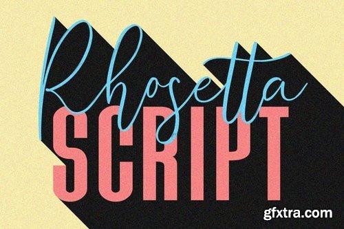 CM - Rhosetta Script 3333845