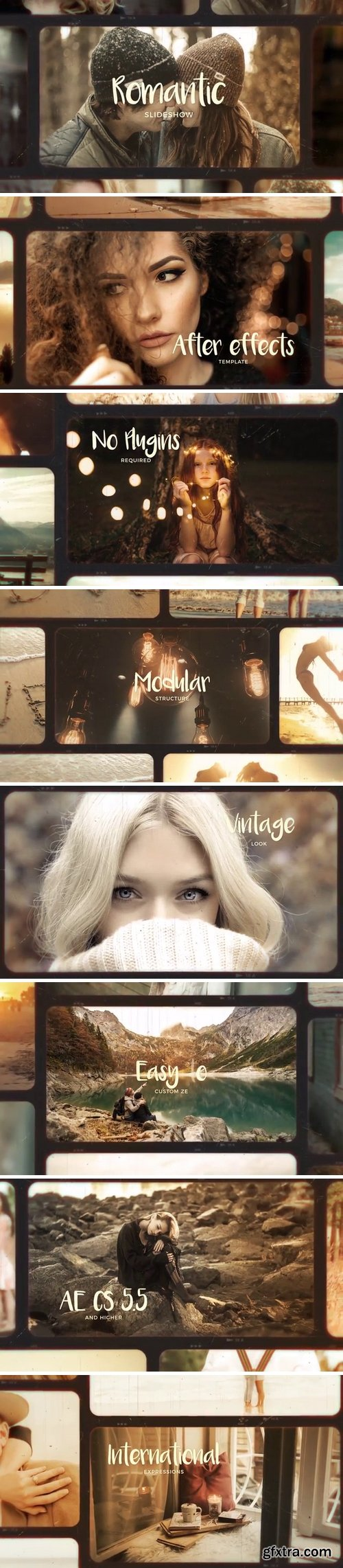 MotionArray - Romantic Photo Slideshow After Effects Templates 61116