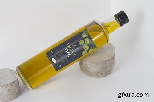 Olive oil Bottle Mock Up