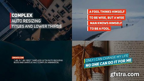 Videohive Lower Thirds 21713324