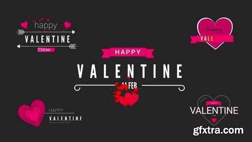 MotionArray - Valentine Clean Titles Pack After Effects Templates 158740