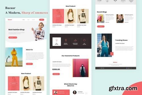 Bazaar - A Modern, eCommerce Email Newsletter
