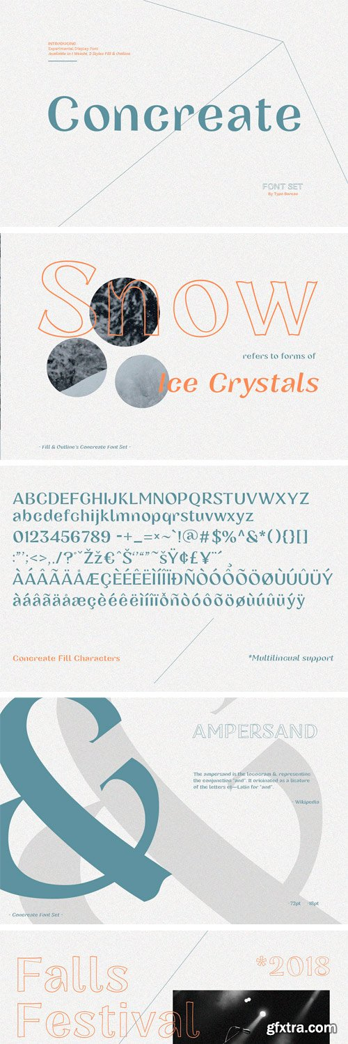 CM - Concreate - Display Font 3041577
