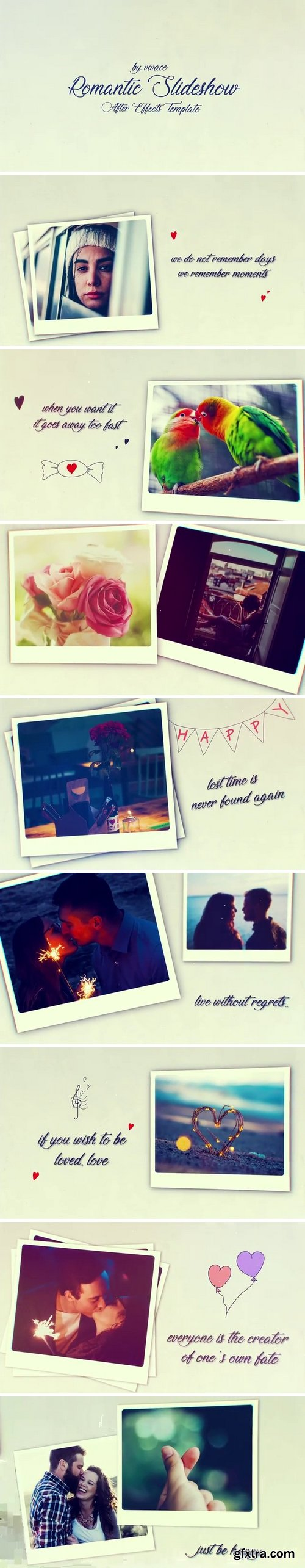 MotionArray - Romantic Slideshow After Effects Templates 159002