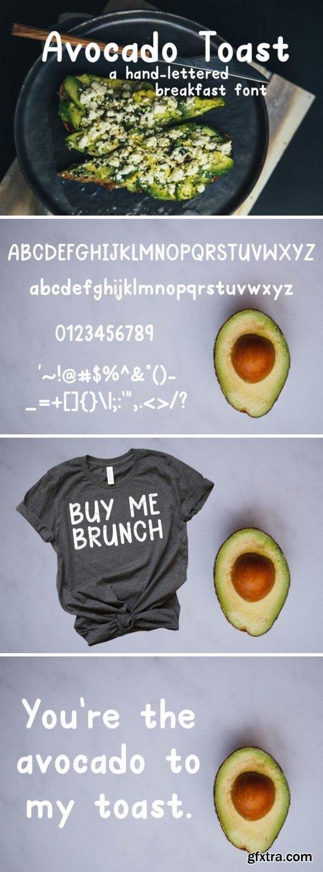 Fontbundles - Avocado Toast 98078